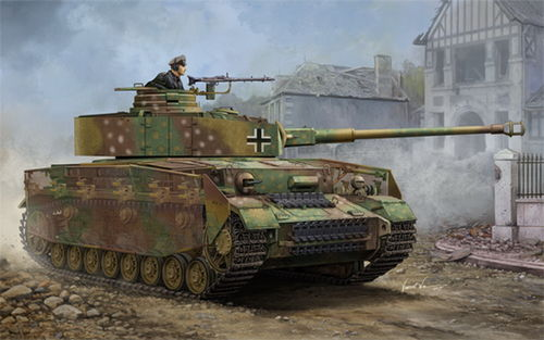Pz.Kpfw. IV Ausf. J, German Medium Tank, 1/16 Plastic Kit