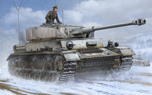 Pz.Beob.Wg. IV Ausf.J, German Medium Tank, 1/16 Plastic Kit