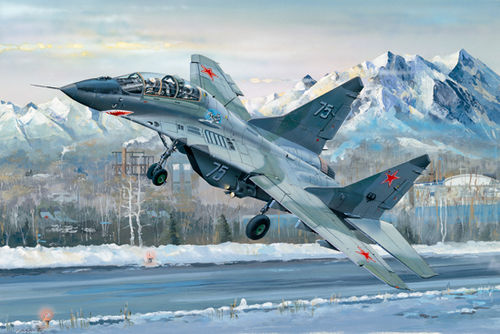 MIG-29UB Fulcrum, Russian Fighter Jet, 1/32 Kit