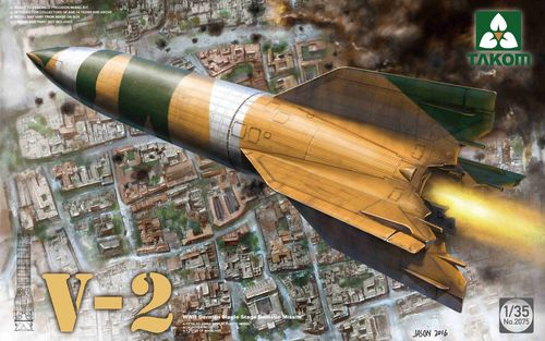 V-2 (A4), German Balistic Rocket, Plastic Kit, 1/35