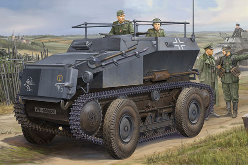 German Sd.Kfz.254 Tracked Armoured Scout Car, 1/35 Plastic Model Kit