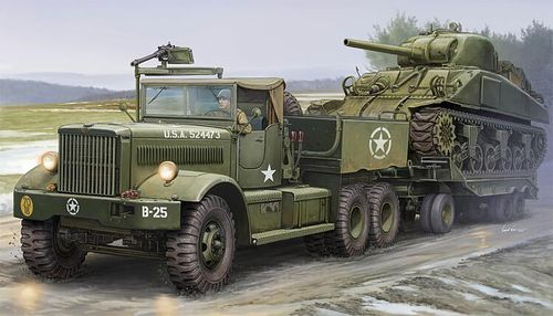 M19 Tank Transporter with Soft Top Cab, Plastic Kit 1/35